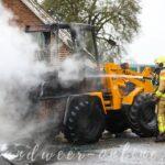 Voertuigbrand Broekstraat Klarenbeek