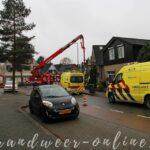 Brandweer,ambulance en politie ingezet aan de Ugchelseweg in Ugchelen