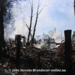 Schuurbrand(middelbrand) Groteweg Wapenveld