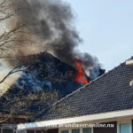 Middelbrand woning Deventerstraat Apeldoorn