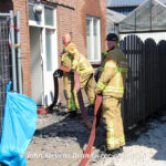 Waterleiding gebroken Deventerstraat Apeldoorn(brandadres)