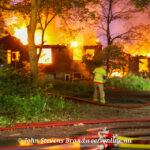 Uitslaande brand in woning Spelderholt Beekbergen