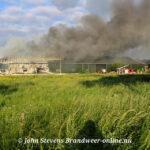 Zeer grote brand in Schuur Grote Veldstraat Angerlo