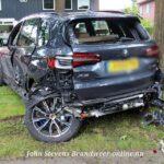 Flinke aanrijding tussen 2 auto's Arnhemseweg Apeldoorn