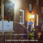 Woninngbrand (klein brandje op balkon) Eendeweg Apeldoorn