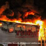 Zeer grote brand woonboulervard in Soesterberg