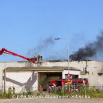 Zeer grote brand in oude sigarettenfabriek in Zevenaar